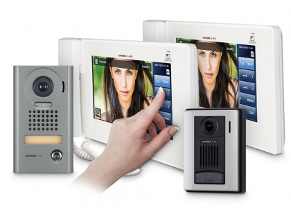 JP Series: Video Intercom with 7-Inch Touchscreen