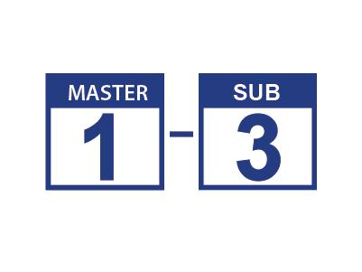 Master 1 sub 3 - Aiphone UK