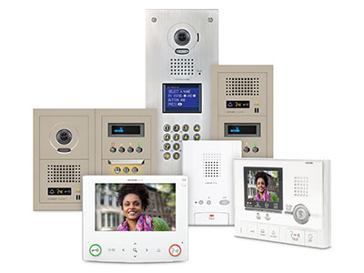 GT Series: Multi-Tenant Colour Video Entry Security System