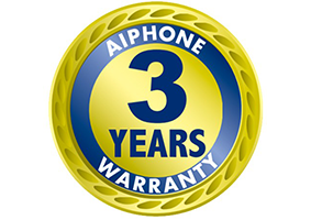 3 Year Warranty - AIPhone