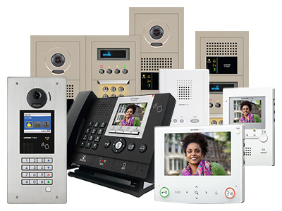 GT Series Security Video Intercom with Remote Programming - Aiphone UK